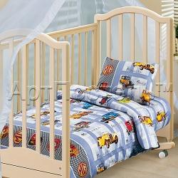 """Купить детское постельное белье из бязи """"Ретро"""""""