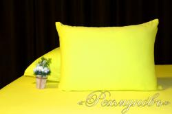Купить желтые трикотажные наволочки на молнии в Астрахани