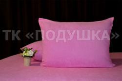 Купить розовые махровые наволочки на молнии в Астрахани