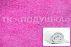 Купить розовый махровый пододеяльник  ТМ Подушка в Астрахани