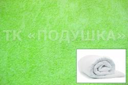 Купить салатовый махровый пододеяльник  в Астрахани